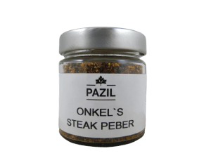 Pazil onkels steak peber